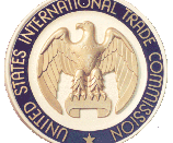 Seal of the United States International Trade Commission. (U.S. International Trade Commission, USITC, ITC)