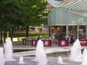 English: Costa Coffee, Brindleyplace, Birmingham