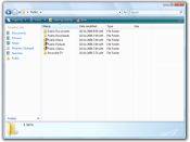 Windows Explorer in Windows Vista
