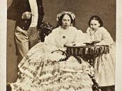 Portrett av Kong Karl IV, Dronning Louise og datteren Louise