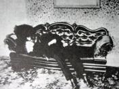 Le corps mutilé d'Andrew Borden, le père de Lizzie Borden