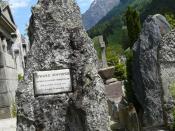 Whymper's Grave in Chamonix