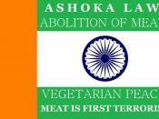 Flag.of.vegetarianism.ashoka.law.abolition.of.meat