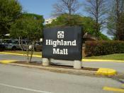 English: Highland Mall