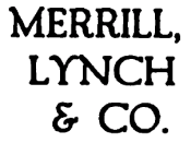 Merrill Lynch logo c. 1917