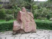 English: The statue of Guan Yu,in Zhuge Liang's temple,Chengdu,China