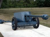 German PaK 40 75 mm anti-tank gun