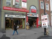 English: Halloween Store, Derry / Londonderry The celebration of this festival is a big event in the city