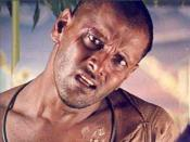 Vikram as the rogue turned mentally ill patient in Sethu , which became his first commercial success and secured him the Filmfare Special Award – South.