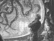 English: Image of the book Twenty Thousand Leagues Under the Sea by Jules Verne. Illustrations by Alphonse de Neuville and Edouard Riou