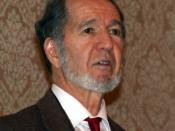 English: Jared Diamond at the 2007 Association of American Geographers Annual Meeting in San Francisco, California, USA Deutsch: Jared Diamond auf dem Jahreskongress der Association of American Geographers in San Francisco, 2007 Suomi: Jared Diamond Yhdys