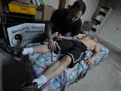 Massage Therapist Vernon Marshall