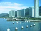 English: Tung Chung New Town - Private Sector Housing taken on 20040918