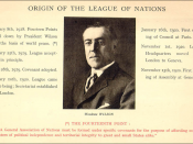 The League of Nations: A Pictorial Summary, Geneva: League of Nations, c. 1920. Detail from poster.