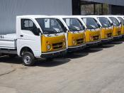 Tata Ace @ factory outlet
