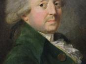 Portrait of Marquis de Condorcet (1743-1794)