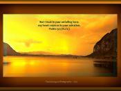 Psalm 13:5