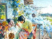 Varanda dos rouxinóis, 1915 (Figueiró dos Vinhos, Portugal)