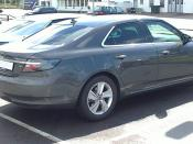 English: Saab 9-5, second generation.