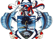 English: Coat of arms of Seychelles.