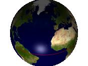 Earth equator northern hemisphere