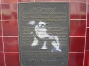 Gregers Marius Lauridsen plaque