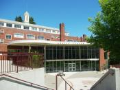 English: Montag Center at Willamette University in Salem, Oregon, USA