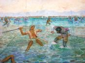 English: Mactan Shrine Painting 2