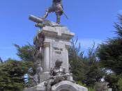 English: Memorial to Magellan in Punta Arenas (Chile).