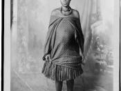 English: Lobengula's youngest daughter.