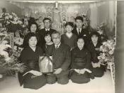 Hiroko Ishikawa at the funeral of PD Perkins