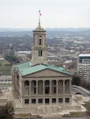 English: Tennessee State Capitol in Nashville. Français : Le capitole de l'état du Tennessee à Nashville (États-Unis).