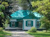 Anton Chekhov's Birthhouse in Taganrog, Russia