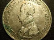 GERMANY, PRUSSIA, FREDERICK WILHELM III 1818 ---THALER b