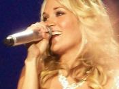 English: Carrie Underwood in concert May 2007