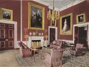 The Red Room after the redesign by McKim, Mead, and White in 1902