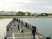 USS Underwood pulls into Key West, Fla.