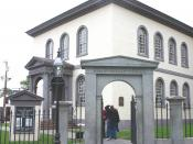 Touro Synagogue, built in 1759 in Newport, Rhode Island, is America's oldest surviving synagogue