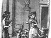 Français : Illustration pour la publication en français. Johann Wolfgang von Goethe, Passions du jeune Werther, Devaux, 1795.