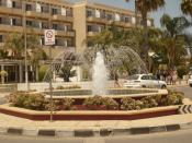 English: Agia Napa Fountain