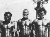 English: Title: Personal photographs of the Hon. C L A Abbott during his term as Administrator of the Northern Territory - Aborigine Chief of Bathurst Island who died of fright in Darwin when he saw his first motor car Date: 1939