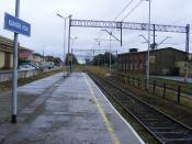 Railway station - dworzec Kolejowy  Kamień Pomorski