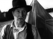 Trailer for the 1940 black and white film The Grapes of Wrath. Russell Simpson as Pa Joad.