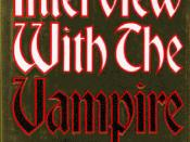 English: Cover of the book Interview With the Vampire by Anne Rice