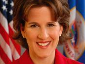 English: Rebecca Otto, Minnesota State Auditor The Constitutional Office of the State Auditor of the State of Minnesota produced this image and allows it to be used freely. It is intended for public dissemination and use..