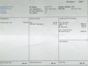 Handling payroll typically involves sending out payslips to employees.