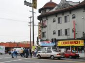 Pico Union street scene