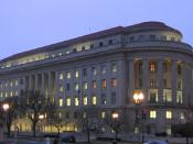 English: Washington, D.C. headquarters of the Federal Trade Commission.