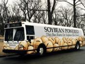 English: Bus running on soybean biodiesel. U.S. Department of Energy: Energy Efficiency and Renewable Energy (www.eere.energy.gov).