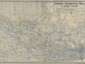 Catholic Immigration Map of Western Canada [1900]